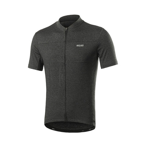 ARSUXEO Men Quick Dry Short Sleeve Cycling Jersey