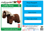 Crafty Ponies Soft Toy Pony Piebald