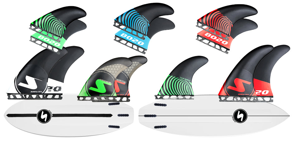 SURFit Fins Wide Range of Formats