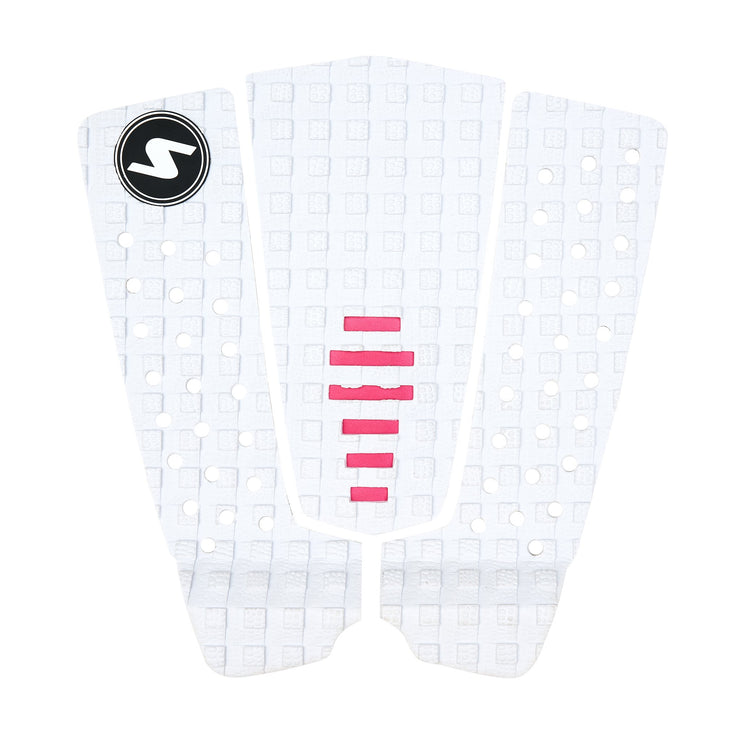 SURFit 3 Piece Tail Grip White Pink Top