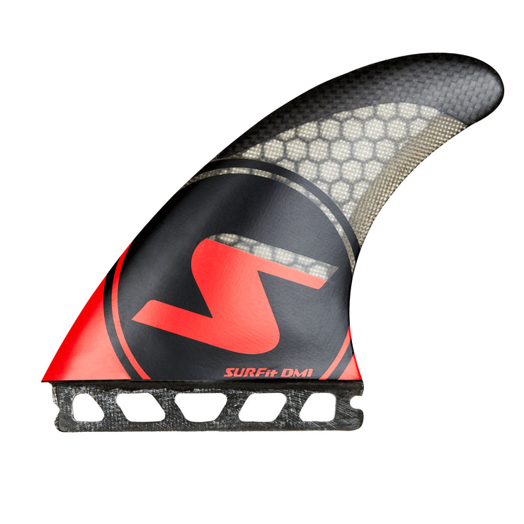 SURFit D1 Tri Fin Set Side Futures