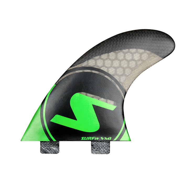 SURFit V1 Tri Fin Set Rear FCS Twin Tab