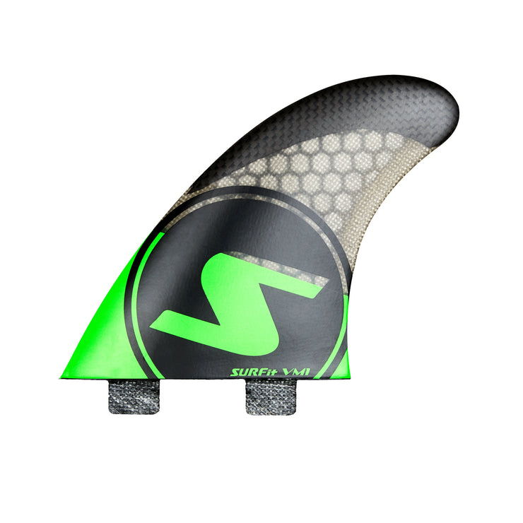 SURFit V1 Tri Fin Set Side Outside FCS Twin Tab
