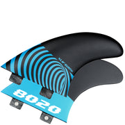 SURFit X1F-8020 Tri Fin Set Twin Tab