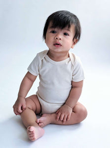 Short Sleeve Baby Bodysuit: EN
