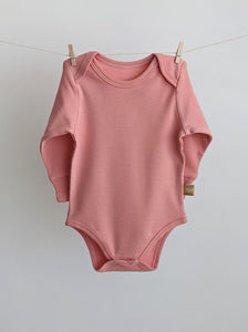 Long Sleeve Baby Bodysuit: TO