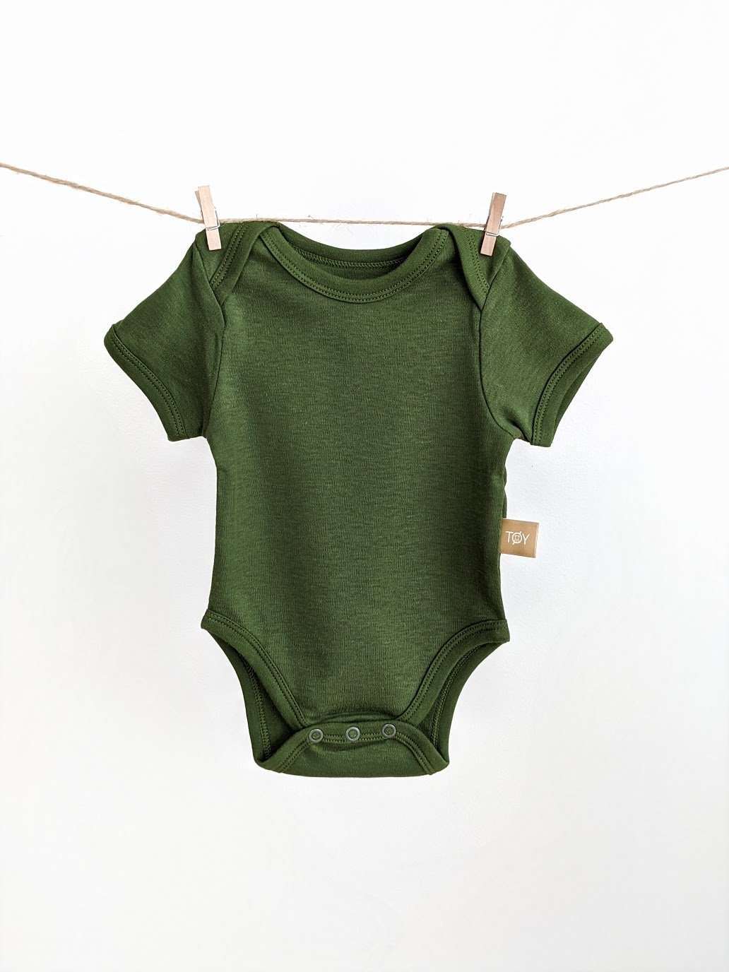 Short Sleeve Baby Bodysuit: TO