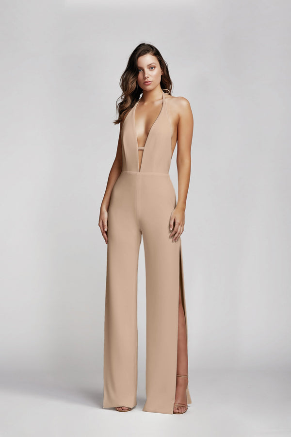 REYNA JUMPSUIT - ROSE-JUMPSUIT-Catia Couture