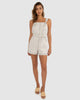 Bastian Playsuit - Natural-JUMPSUIT-Catia Couture