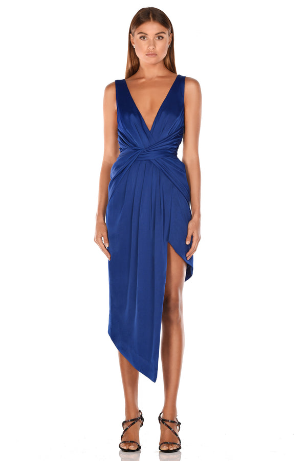 Nyrella Midi Dress - Cobalt