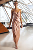 Le Luxe Maxi - Dusty Rose-DRESS-Catia Couture
