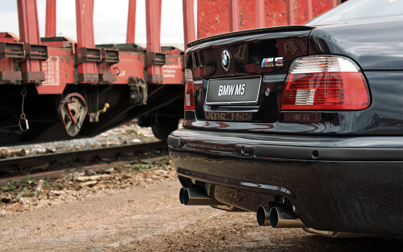 Rear Exhaust Mufflers - E39 M5