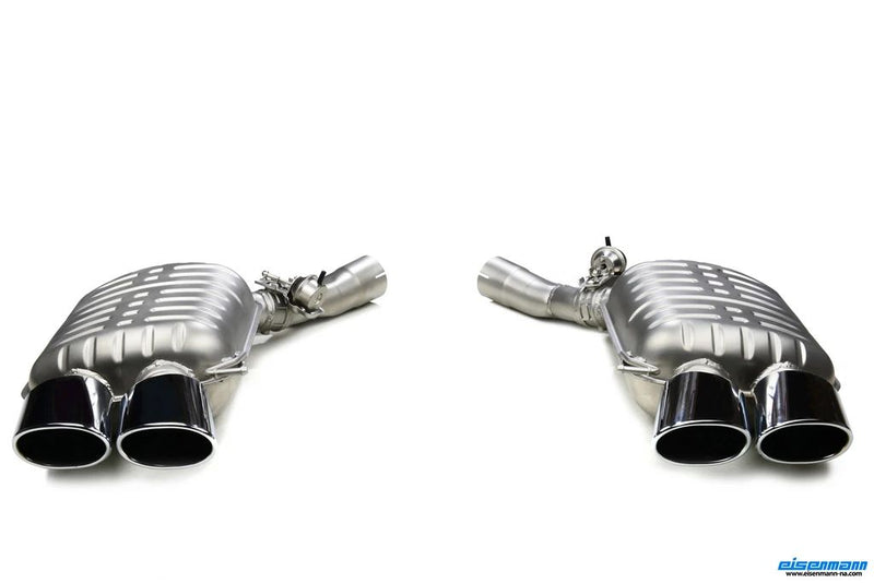 Rear Exhaust Mufflers - F12|F13|F06 M6
