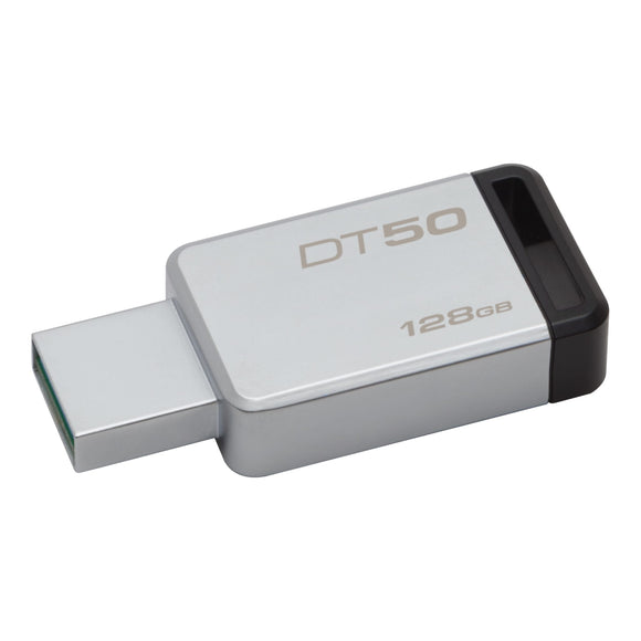 Clé USB 3.1/3.0/2.0 Kingston DataTraveler 50 128Go