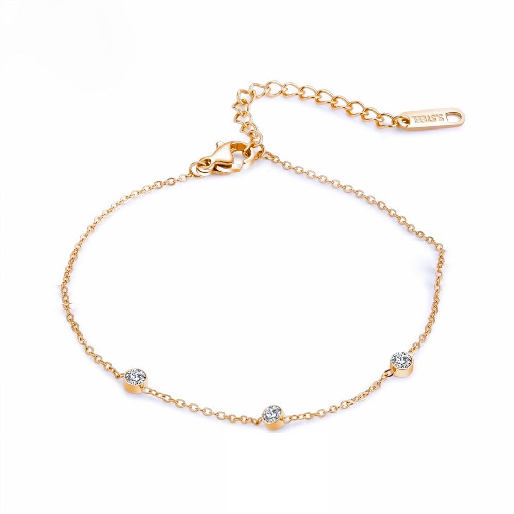 Diamond Bracelet Gold