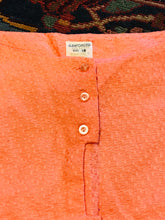 Load image into Gallery viewer, 1960s Textured Cotton Salmon Summer 2PC