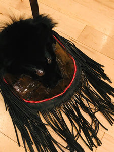 Authentic Native American Turtle Shell Medicine Bag