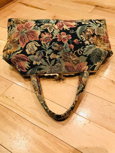 The Perfect Sized 1960s Carpet Bag