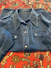 Load image into Gallery viewer, Soft Denim 1960s Snap Jacket