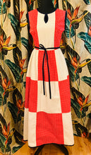 Load image into Gallery viewer, Vintage I.MAGNIN Cotton Picnic Dress
