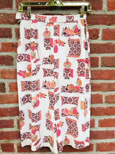 Load image into Gallery viewer, Genie Print Pencil Skirt