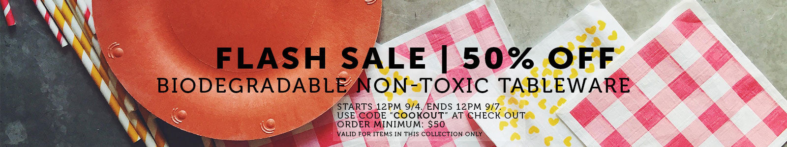 Flash Sale Collection for Labor Day Weekend