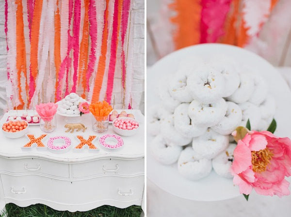 Circus Themed Bridal Shower Diy Confetti Bag Susty Party