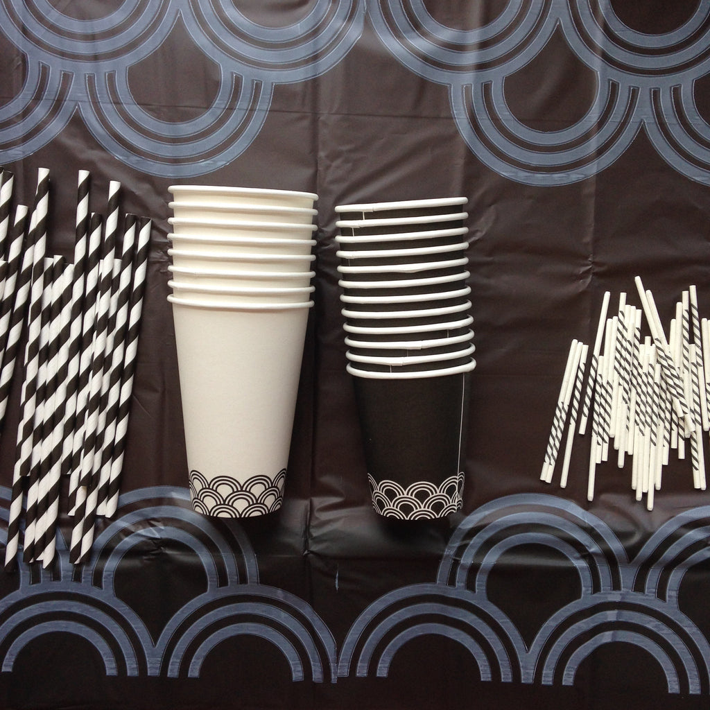Tablecloth Black 1 Tablecloth Susty Party