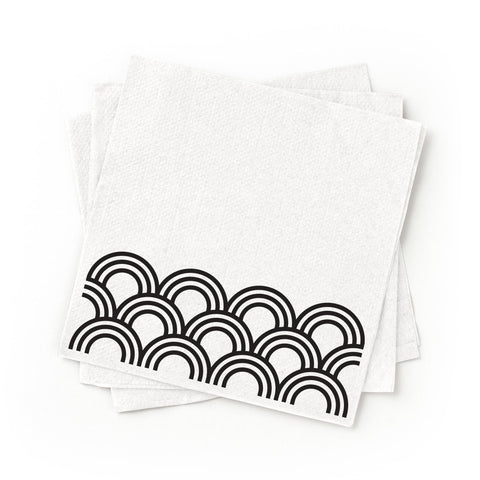 Cocktail Napkins - Black