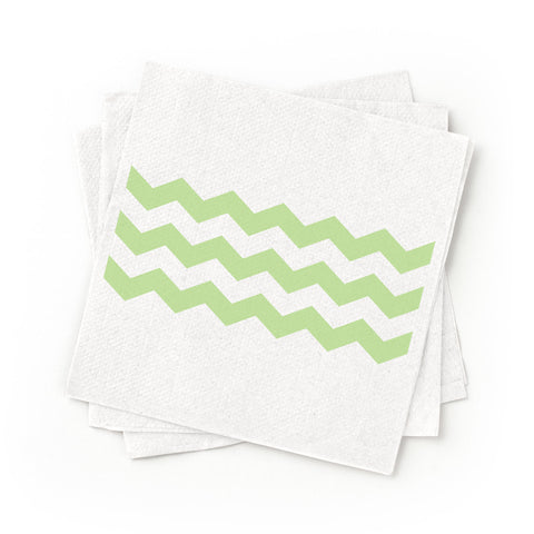 Cocktail Napkins - Green