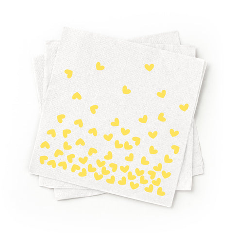 Cocktail Napkins - Yellow