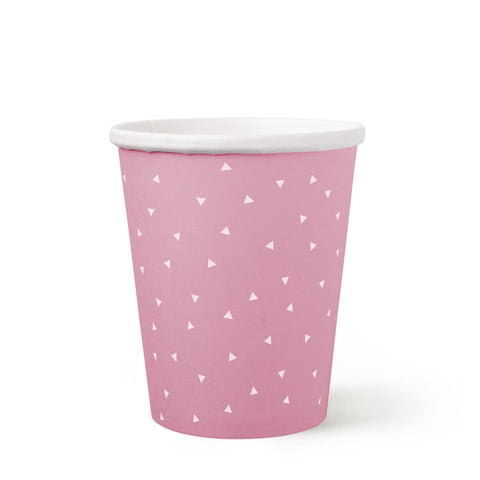 10 oz Paper Cups - Pink