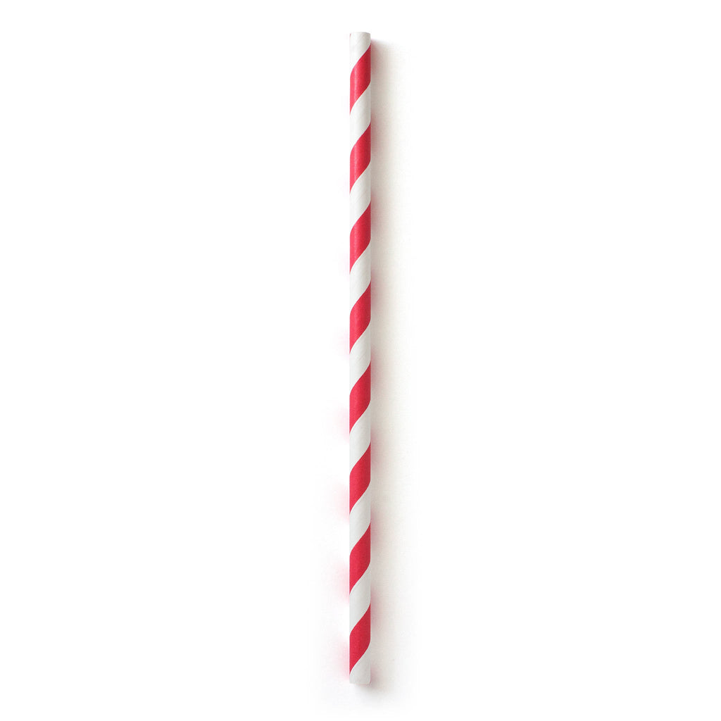 Paper Straws Red 10 Straws Susty Party