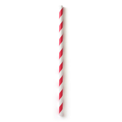 Paper Straws - Red