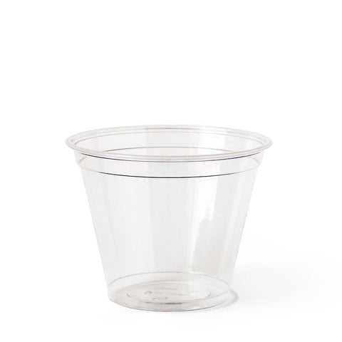 9 oz Clear Cups by MikaPak - 100 cups