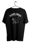Fjäderholmarnas - Drink Local Tee Svart