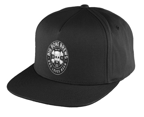 Big Bone Brews - Flat Peak Snapback