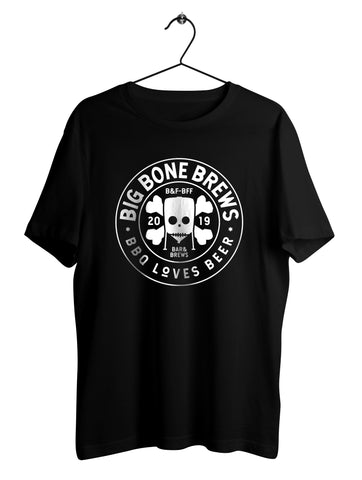 Big Bone Brews - Tshirt Svart
