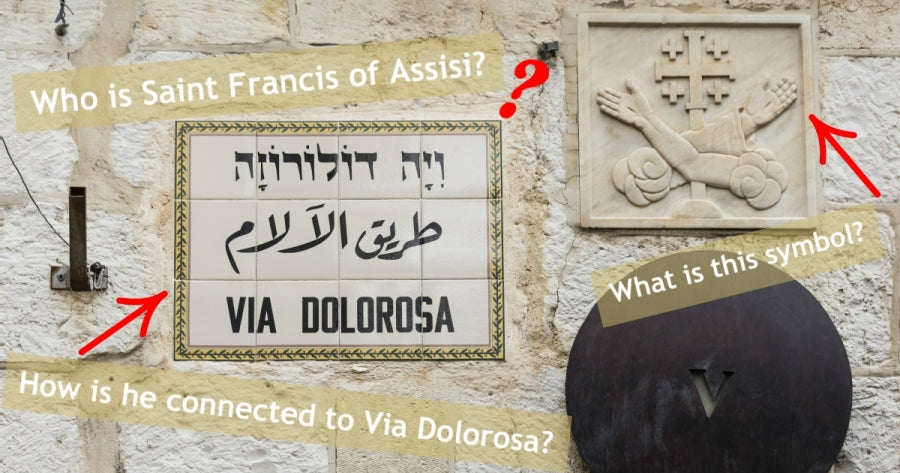 The 5th Station of the Via Dolorosa