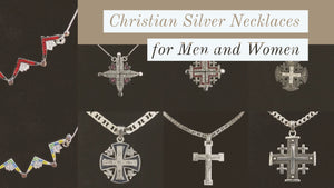 Christian Silver Necklaces for Men and Women