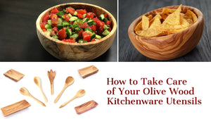 How to Take Care of Your Olive Wood Kitchenware Utensils