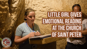 Little Girl Gives Emotional Reading at the Church of Saint Peter