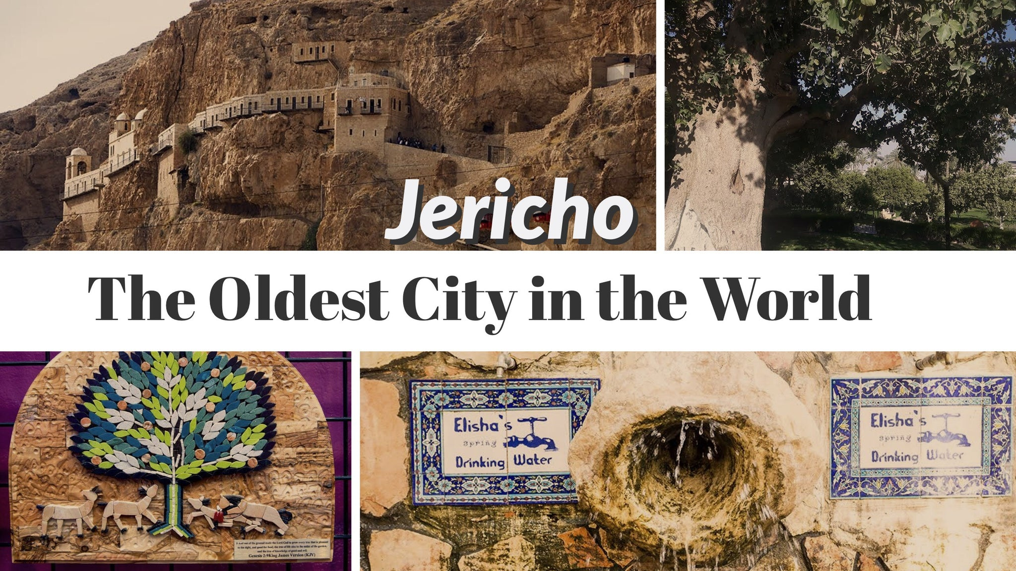 Jericho The Oldest City In The World Bethlehem Handicrafts