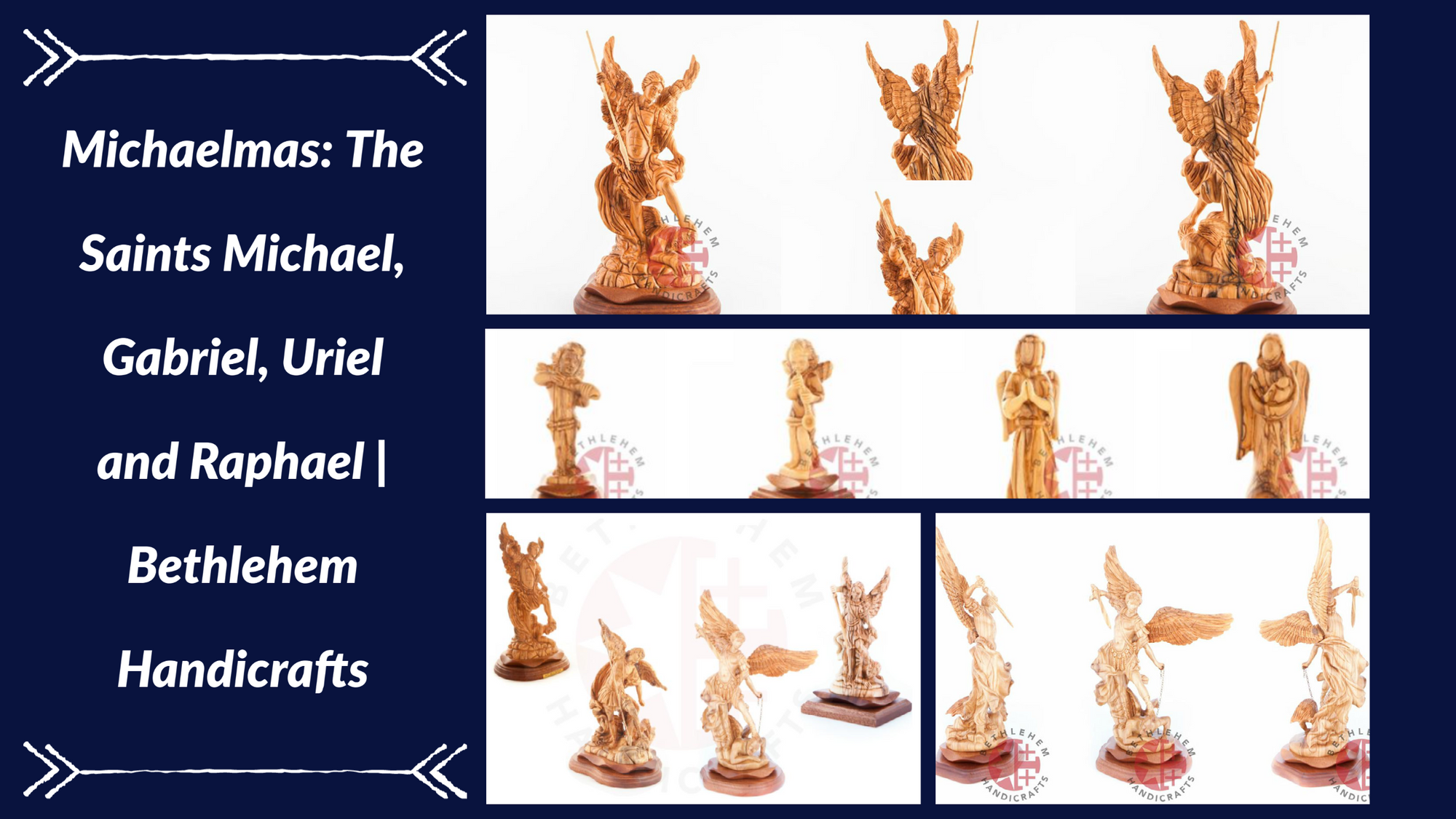 Michaelmas: The Saints Michael, Gabriel, Uriel and Raphael | Bethlehem Handicrafts