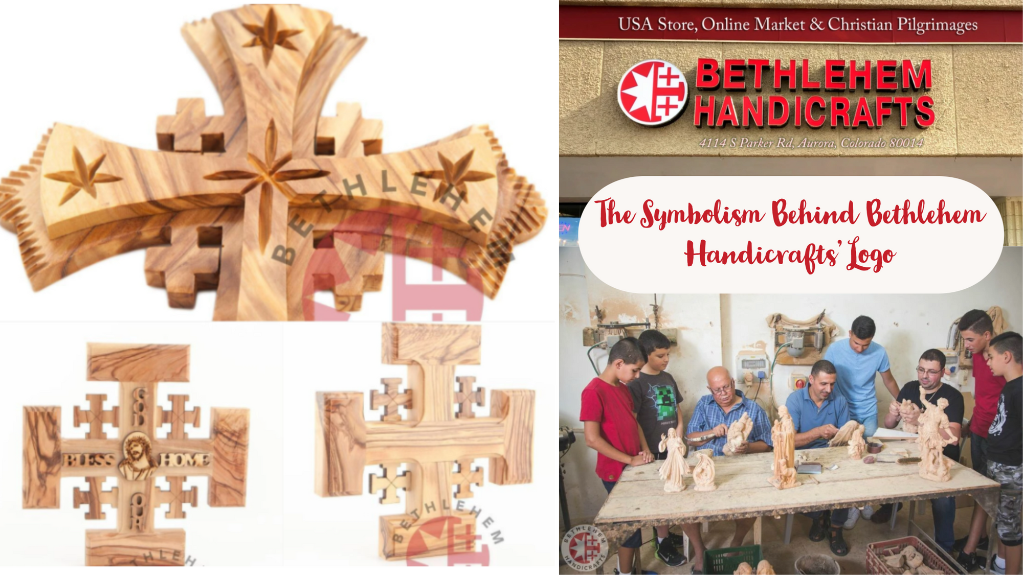 The Symbolism Behind Bethlehem Handicrafts' Logo