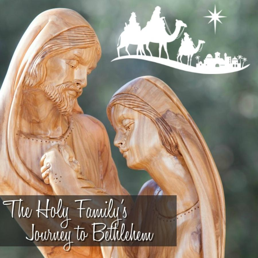 The Holy Family's Journey to Bethlehem