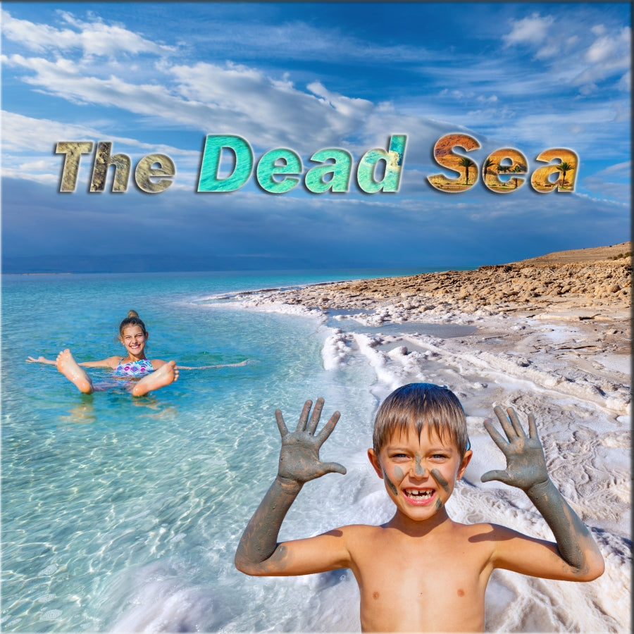 The Dead Sea in the Holy Land