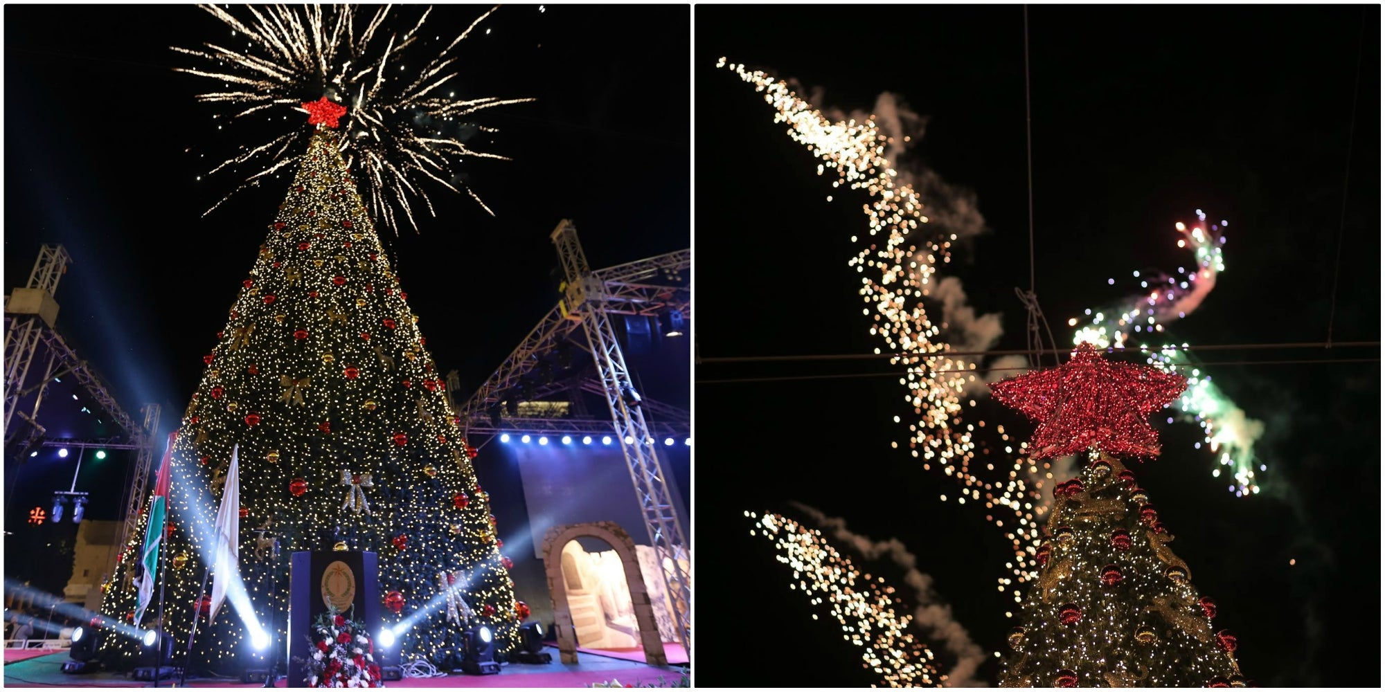 Christmas Tree Lighting in Bethlehem