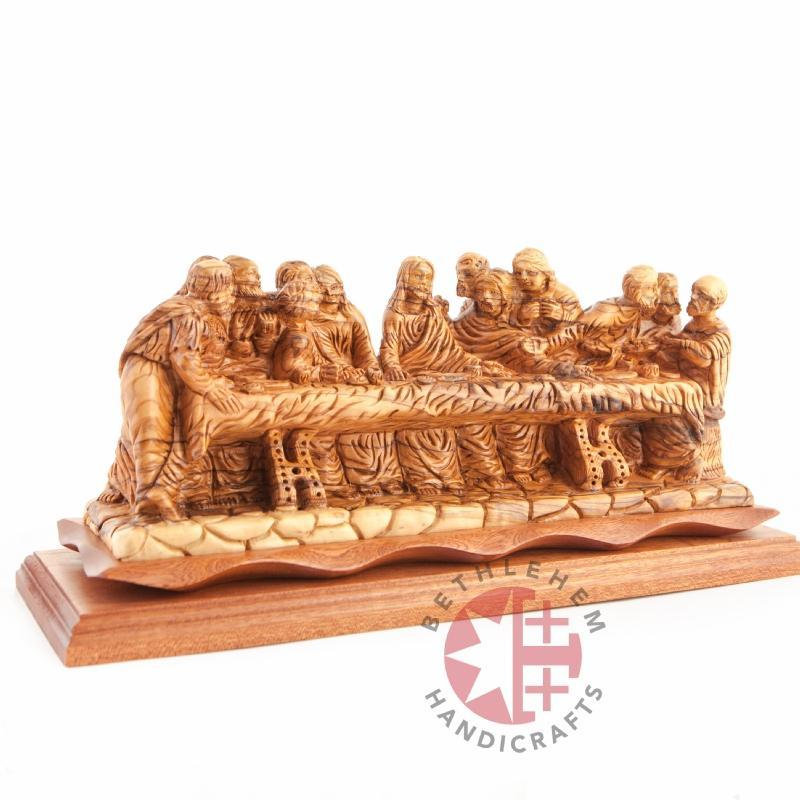 Olive Wood Hand Carved Last Supper