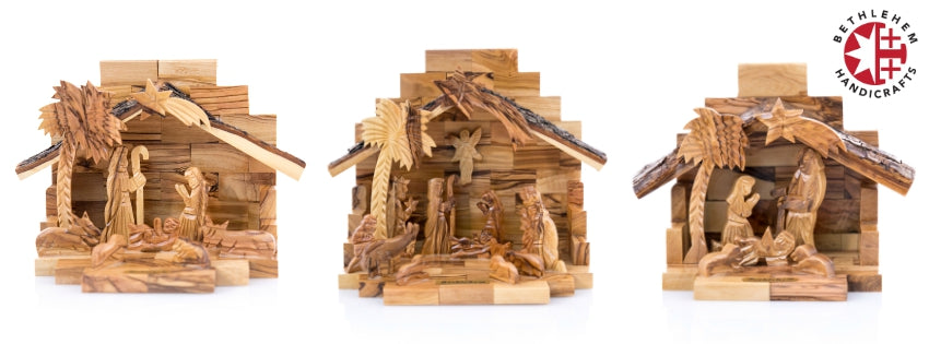 Olive Wood Nativity Scenes / Nativity Sets